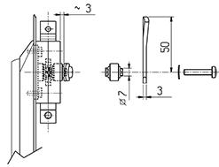 6 - B3-500- 2507 KIT com Lingueta