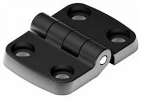 Dobradiça perfil aluminio em Poliamida