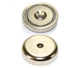 PA5531-032 Magnetico Neodymium com furo Cónico