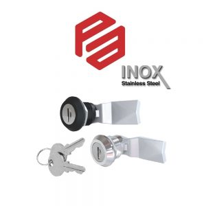 1C-060 – PA22041XX-000 – QUARTER-TURN WITH KEY (ZINC DIE, POLYAMIDE OR STAINLESS STEEL) L18mm