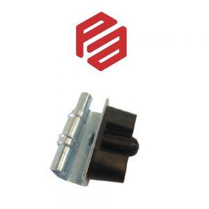 1K-400 – PA6410302-000 CONCEALEAD HINGE – ZINC PLATED OR STAINLESS STEEL – 125º